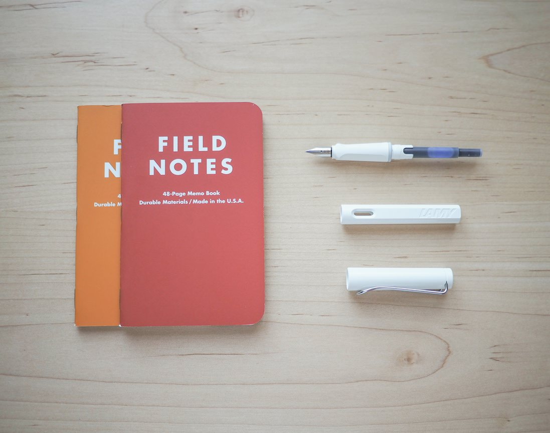 Safari and Favourite Field Notes Colours