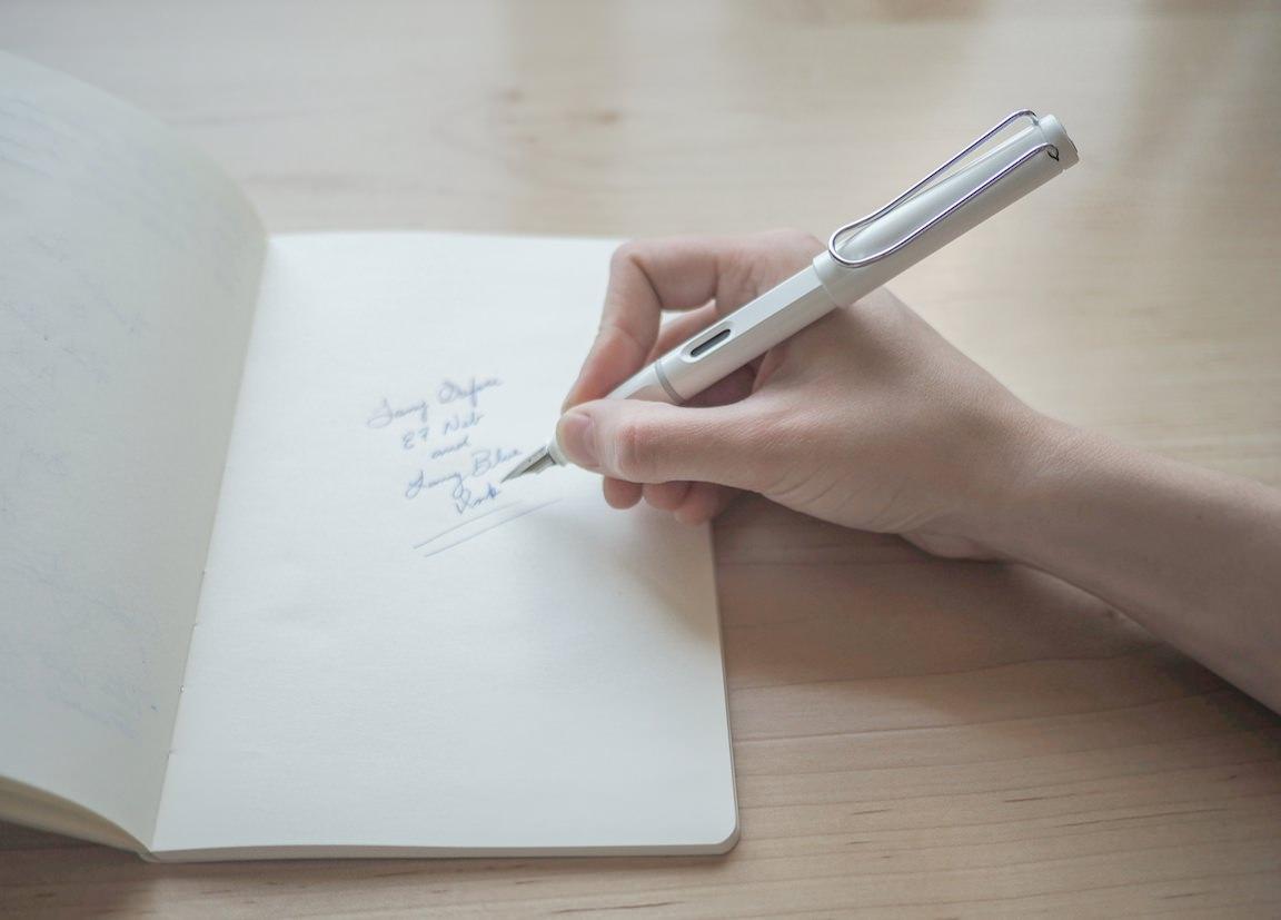 Lamy Safari Writing