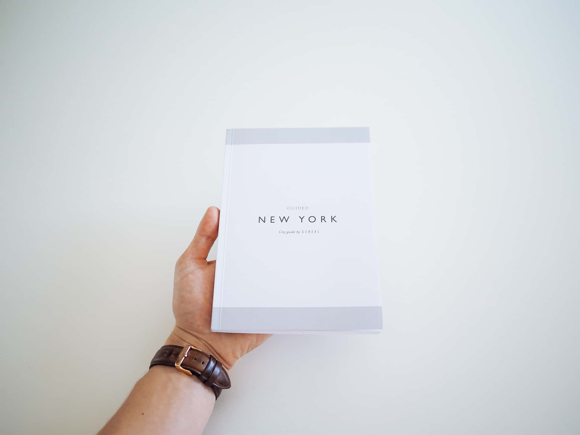 Guided New York — A City Guide by CEREAL The Newsprint