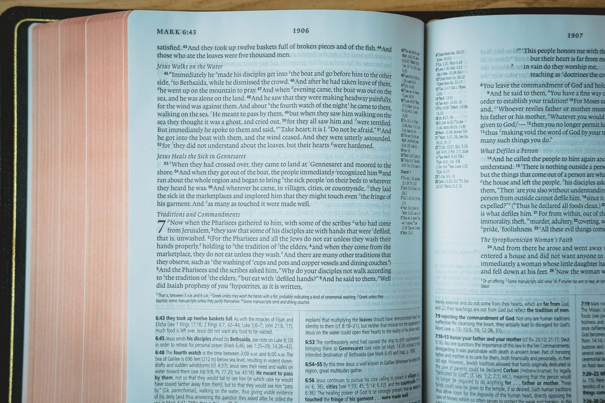 Heirloom Study Bible Fonts