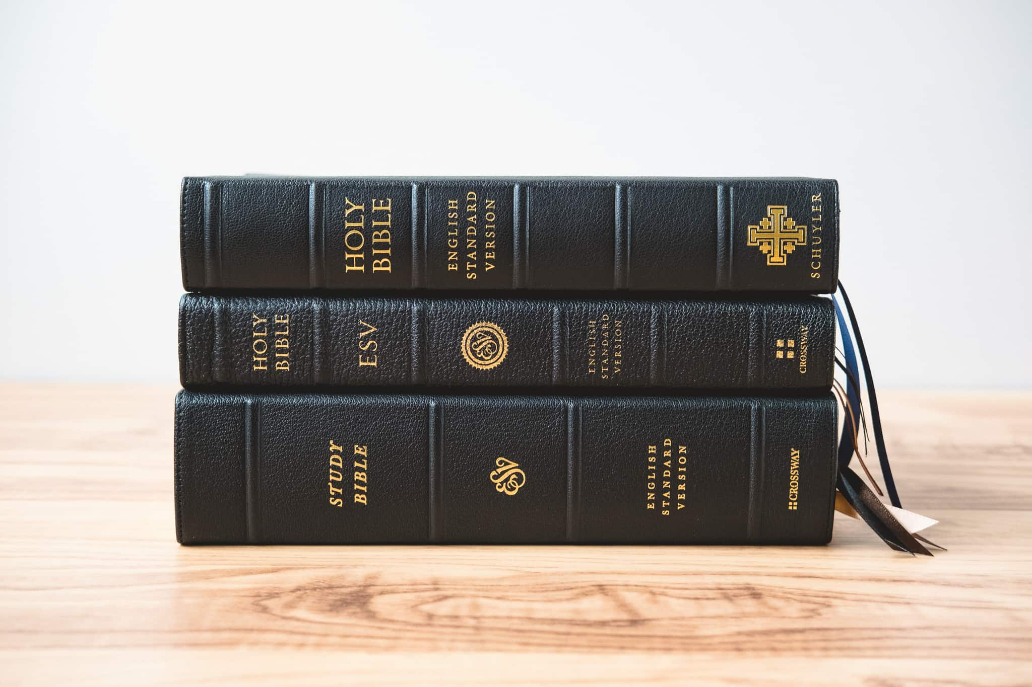 ESV Heirloom Spine Comparison